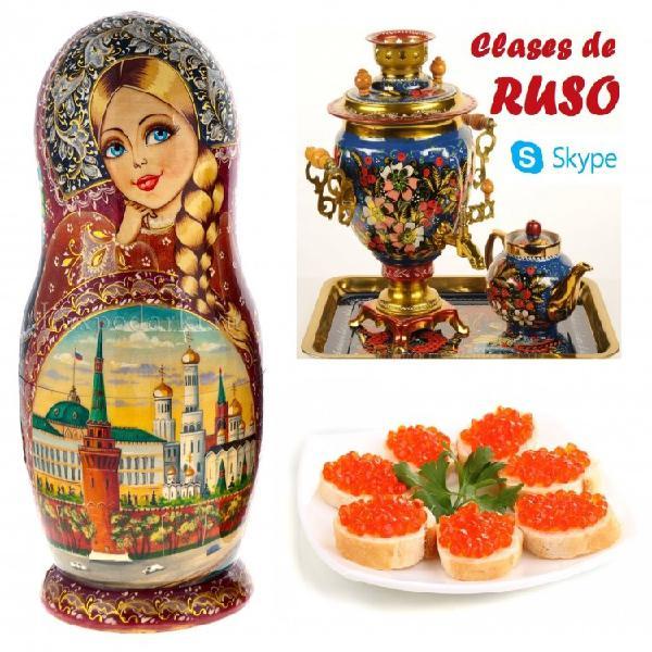 Clases de ruso online con profesora nativa