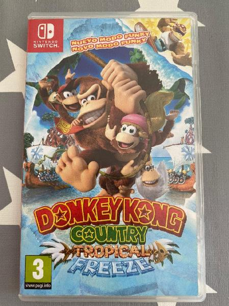 Donkey kong country: tropical freeze nint. switch