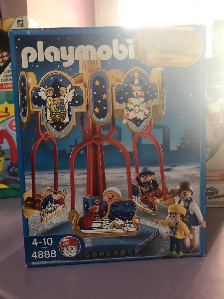 Edición limitada carrusel de navidad playmobil