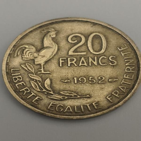 Francia 20 francos 1952