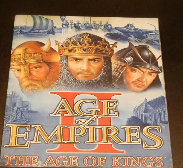 Ii age of empires. the age of kings. manual original del