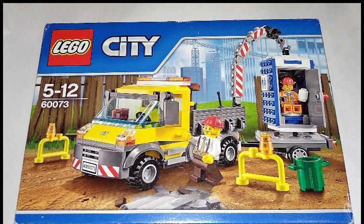 Lego city, vehículo de asistencia y servicio, 60073, nuevo