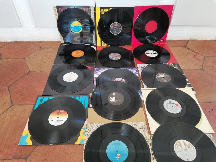 Lote x 14 vinilos trance techno house c. nuevos