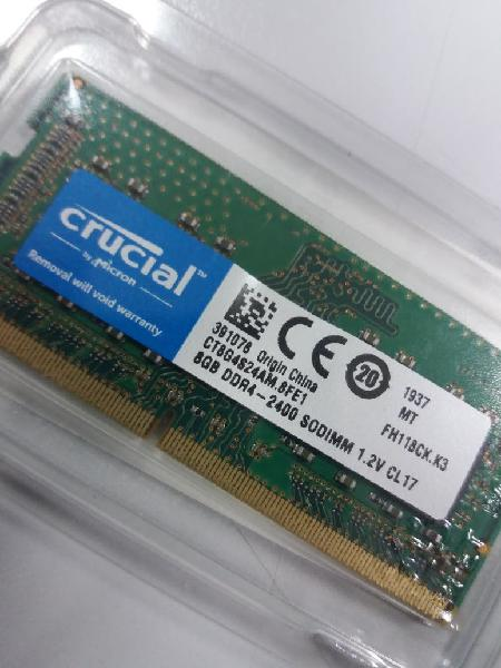 Memoria ram crucial ddr4 8gb