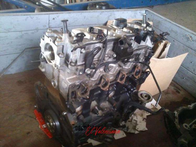 Motor kia sportage 2.0 crdi 140 cv