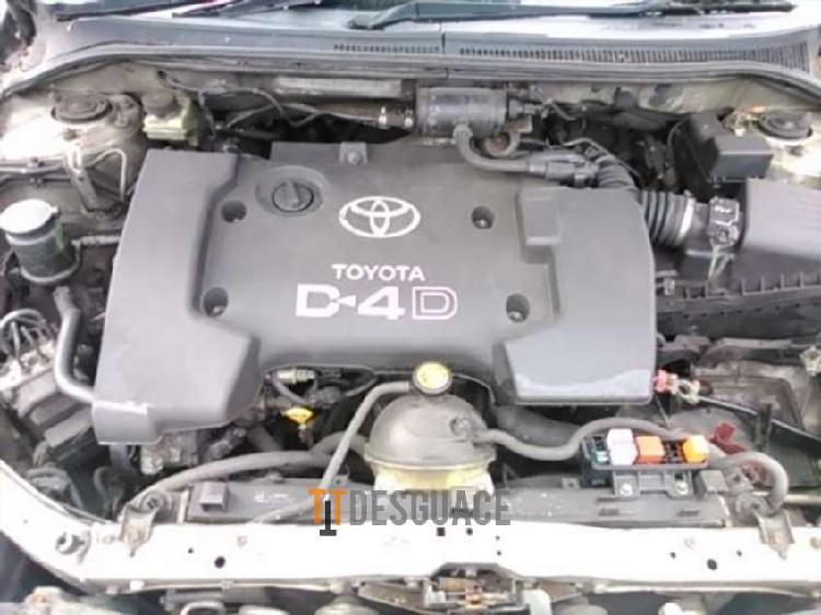 Motor toyota corolla 2.0 d4d 116 cv