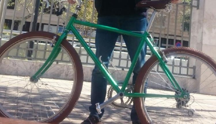 Mountain bike restaurada