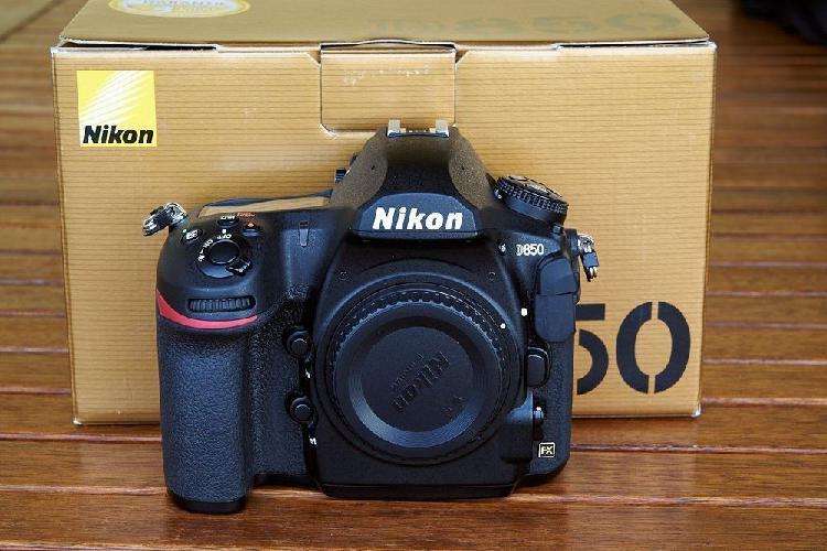 Nikon d850 en buen estado