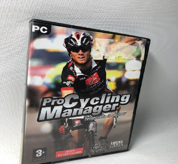 Pocycling manager 2006- 2007