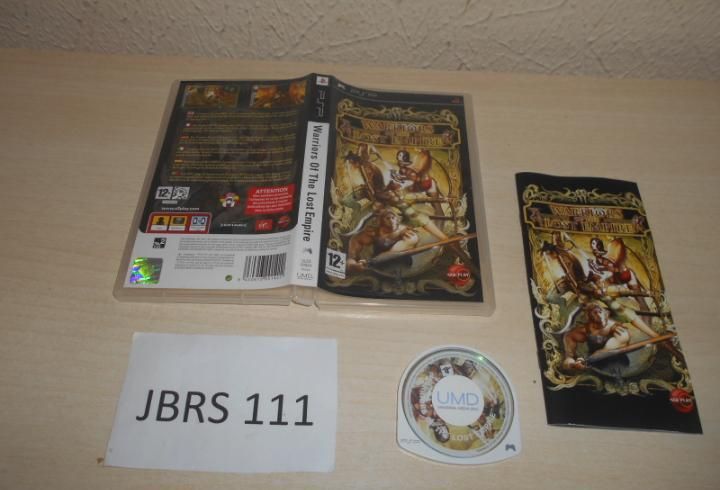 Psp- warriors of the lost empire, pal español, completo