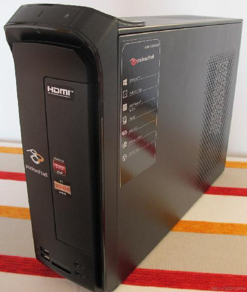 Packard bell imedia hdmi - hdd 500 gb ram 6 gb