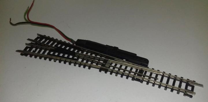 Roco n desvío eléctrico izq largo 15º --- l45-164 (con
