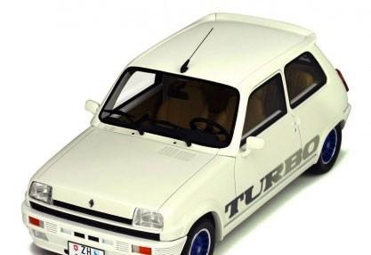 Renault 5 gordini turbo escala 1/18 de otto mobile