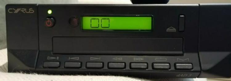 Reproductor cd cyrus . audiofilo. uk
