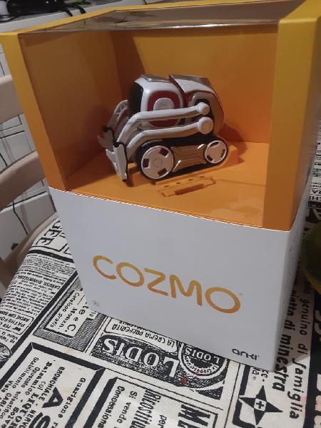 Robot cozmo con inteligencia artificial