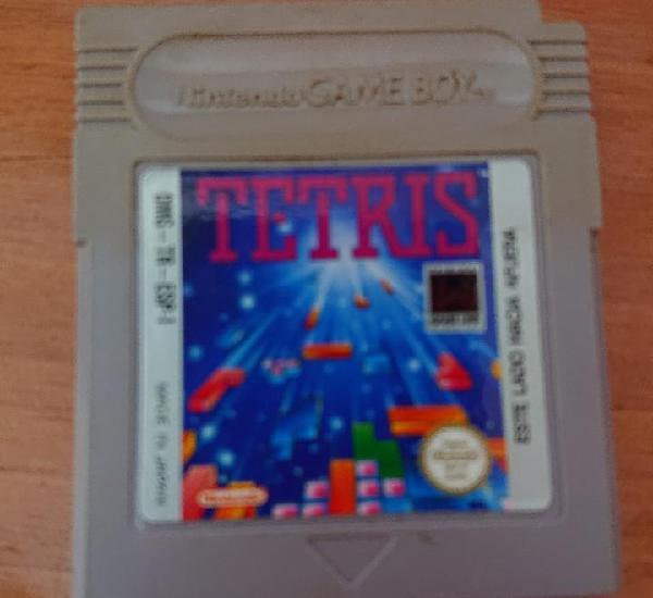 Tetris game boy cartucho