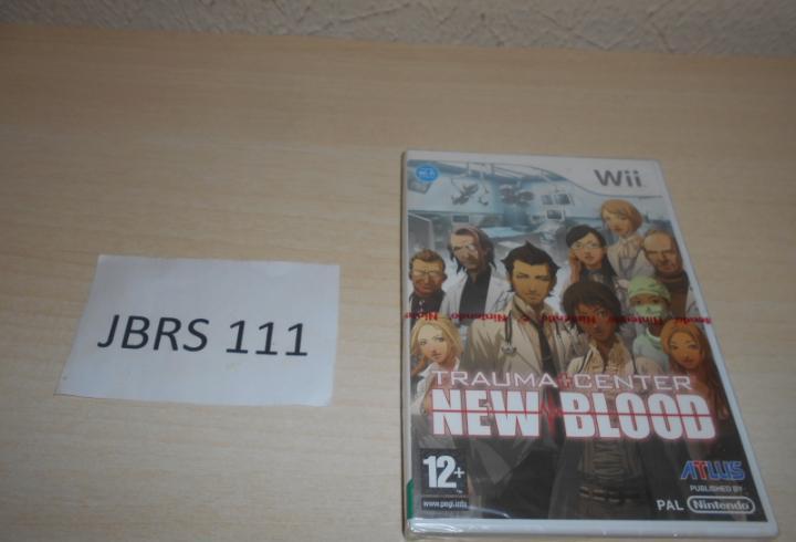 Wii - trauma center new blood, pal europeo, precintado