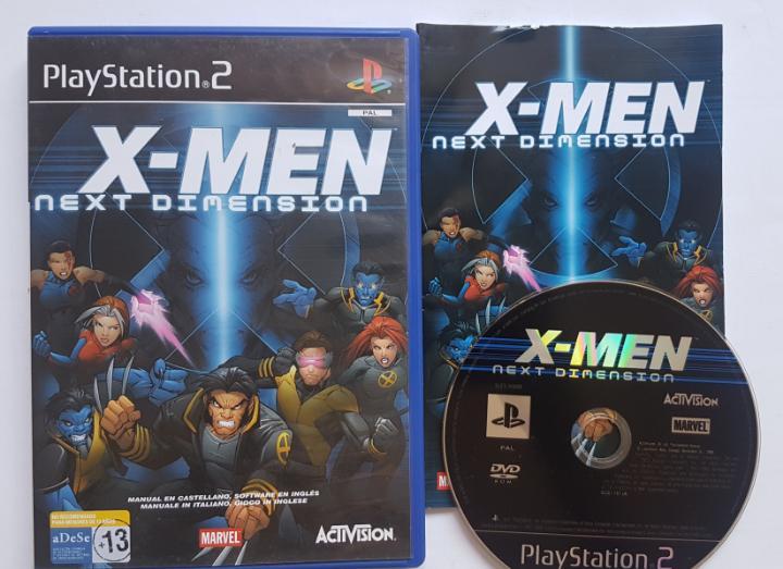 X-men next dimension ps2 playstation 2