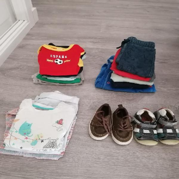 Lote ropa bebé 15 piezas