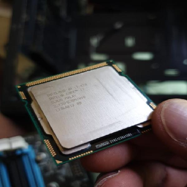 Procesador intel i7 y placa base asus