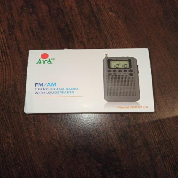 Radio fm/am nueva a estrenar