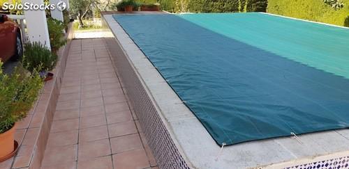 Cubierta de proteccion para piscinas