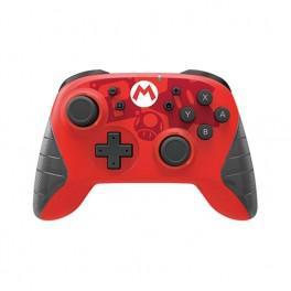 Gamepad hori wireless mario rojo