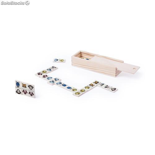 Juego de mesa dominó infantil
