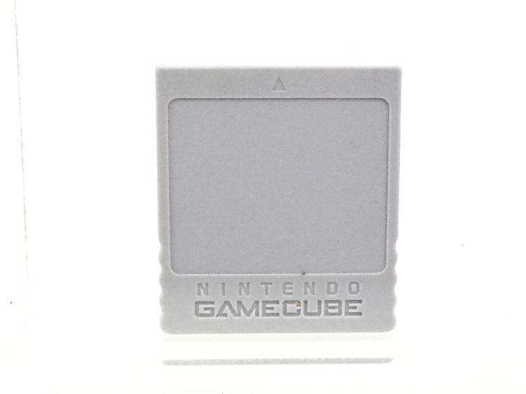 Coleccionismo vintage nintendo dol-008 memory card game cube