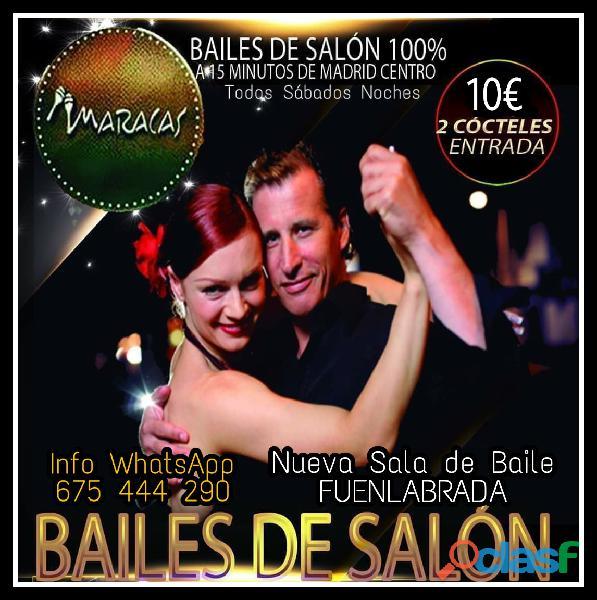 MARACAS FUENLABRADA   BAILES DE SALON 100%