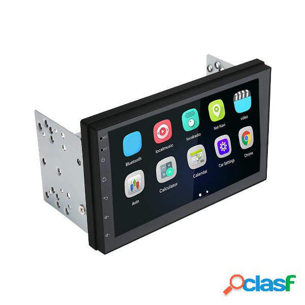 Universal 7 inch para android 8.1 coche radio 2g + 16g multimedia reproductor mp5 2 din gps wifi bluetooth fm trasero cá