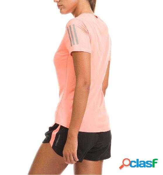 Camiseta técnica entreno running adidas rs ss tee naranja s