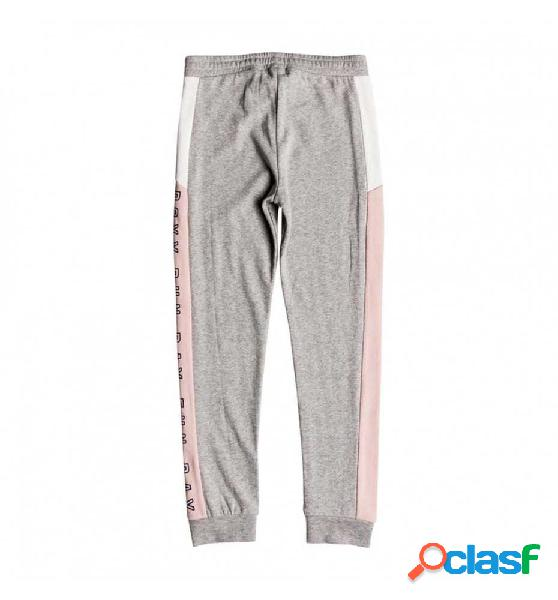 Pantalon largo casual roxy another you 12 gris