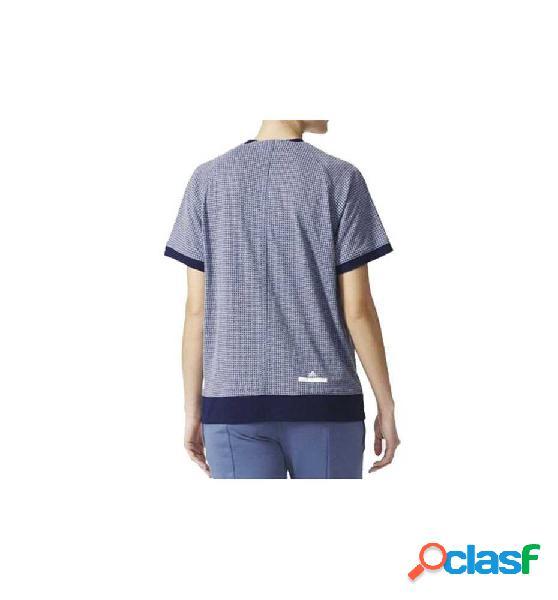 Camiseta running adidas the tee inknav azul m
