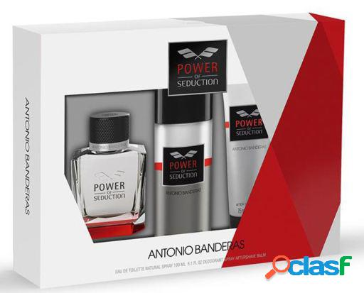 Antonio banderas power of seduction lote 3 piezas