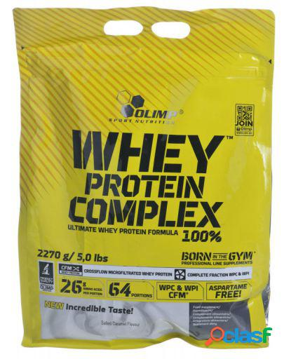 Olimp nutrition whey protein complex 100% con 2270 gr salted caramel