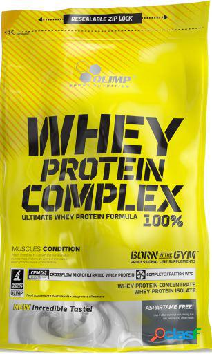 Olimp nutrition whey protein complex 100% con 700 gr cookies crema