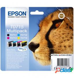 Epson t0715 multipack 4 colores