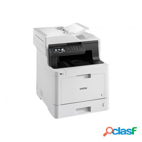 Impresora brother multifuncion laser color mfc-l8690cdw 31ppm a4