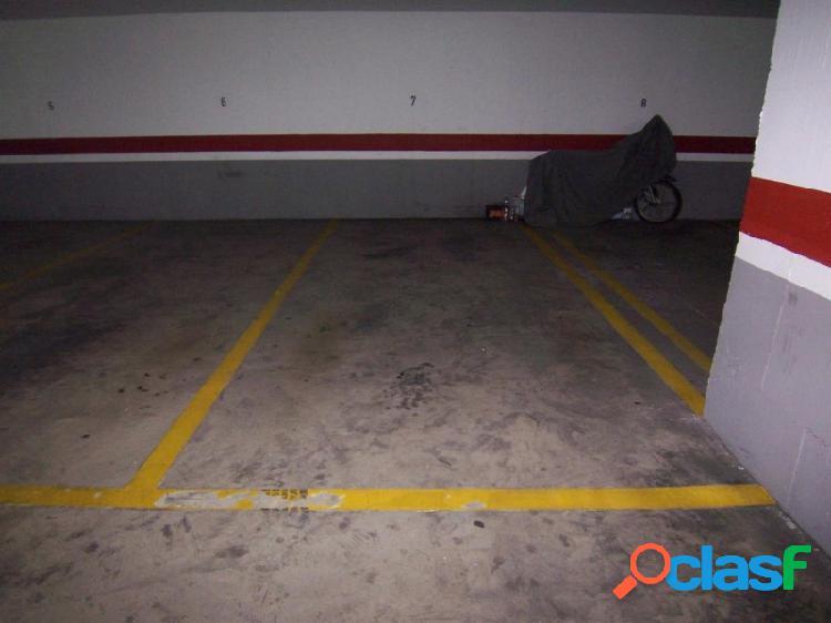 Plaza de garaje en mislata. zona la canaleta.