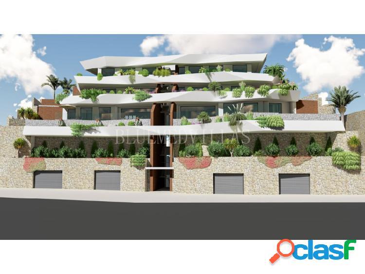 Proyecto de 4 apartamentos de lujo a 50m del mar en venta en benidorm