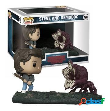 Funko pop steve y demodog stranger things