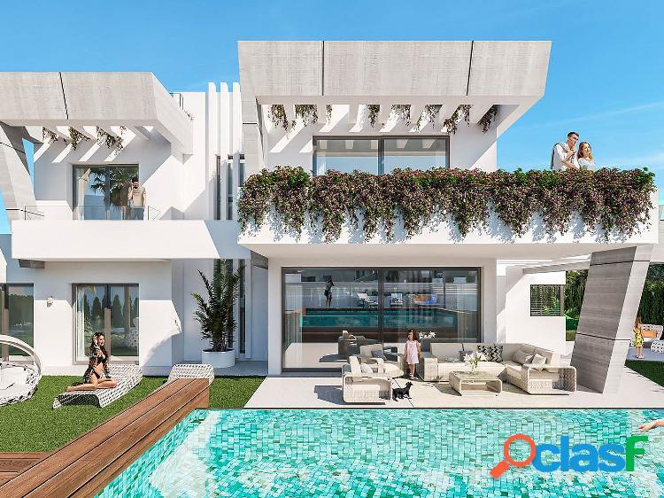 Villas de obra nueva en venta en puerto banus, marbella, malaga