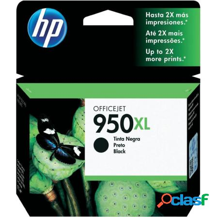 Cartucho negro hp n950xl para officejet pro 8600