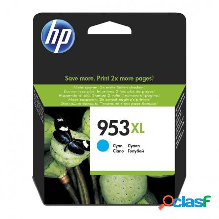 Cartucho cian hp n953xl - 1600 paginas aprox. - para officejet pro 821