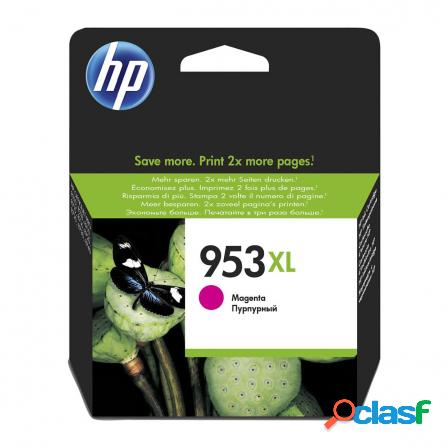 Cartucho magenta hp n953xl - 1600 paginas aprox. - para officejet pro