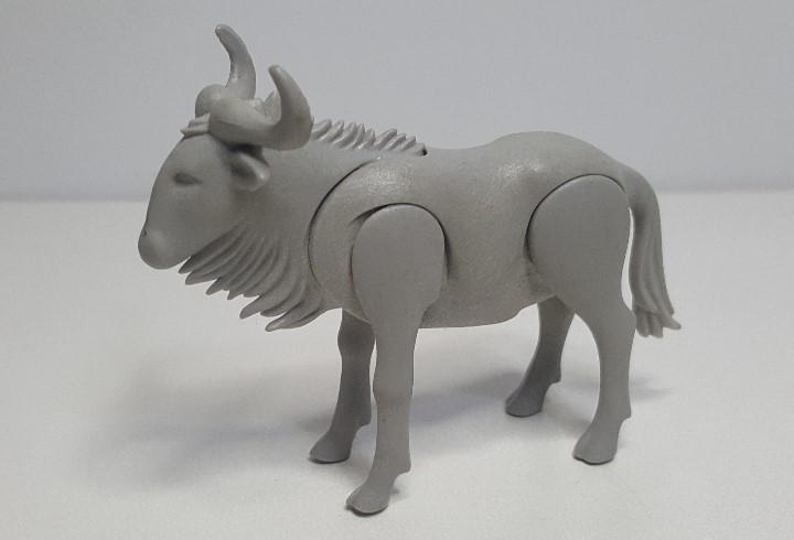 Antiguo ñu gris playmobil ngorongoro safari animal africano