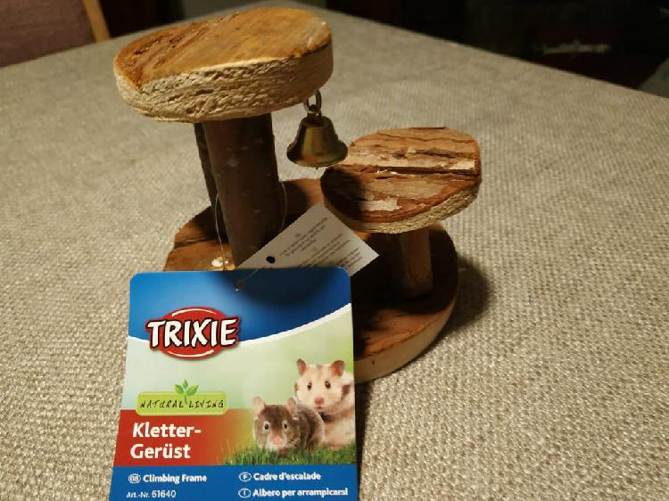 Arbol trepador para hamsters trixie a estrenar