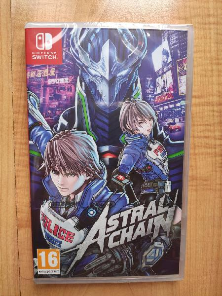Astral chain nintendo switch nuevo