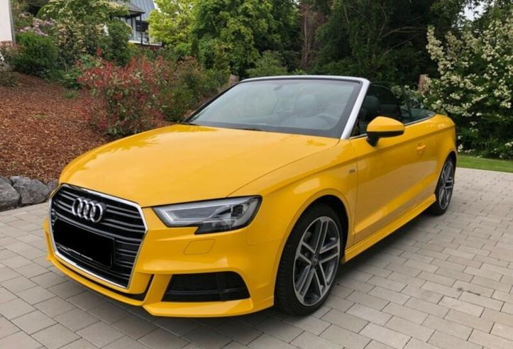 Audi a3 cabrio s line s tronic